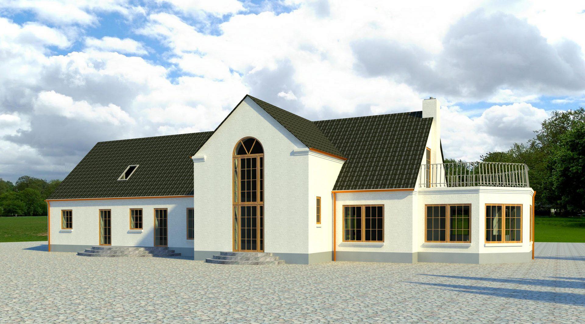 Stuehus til landejendom