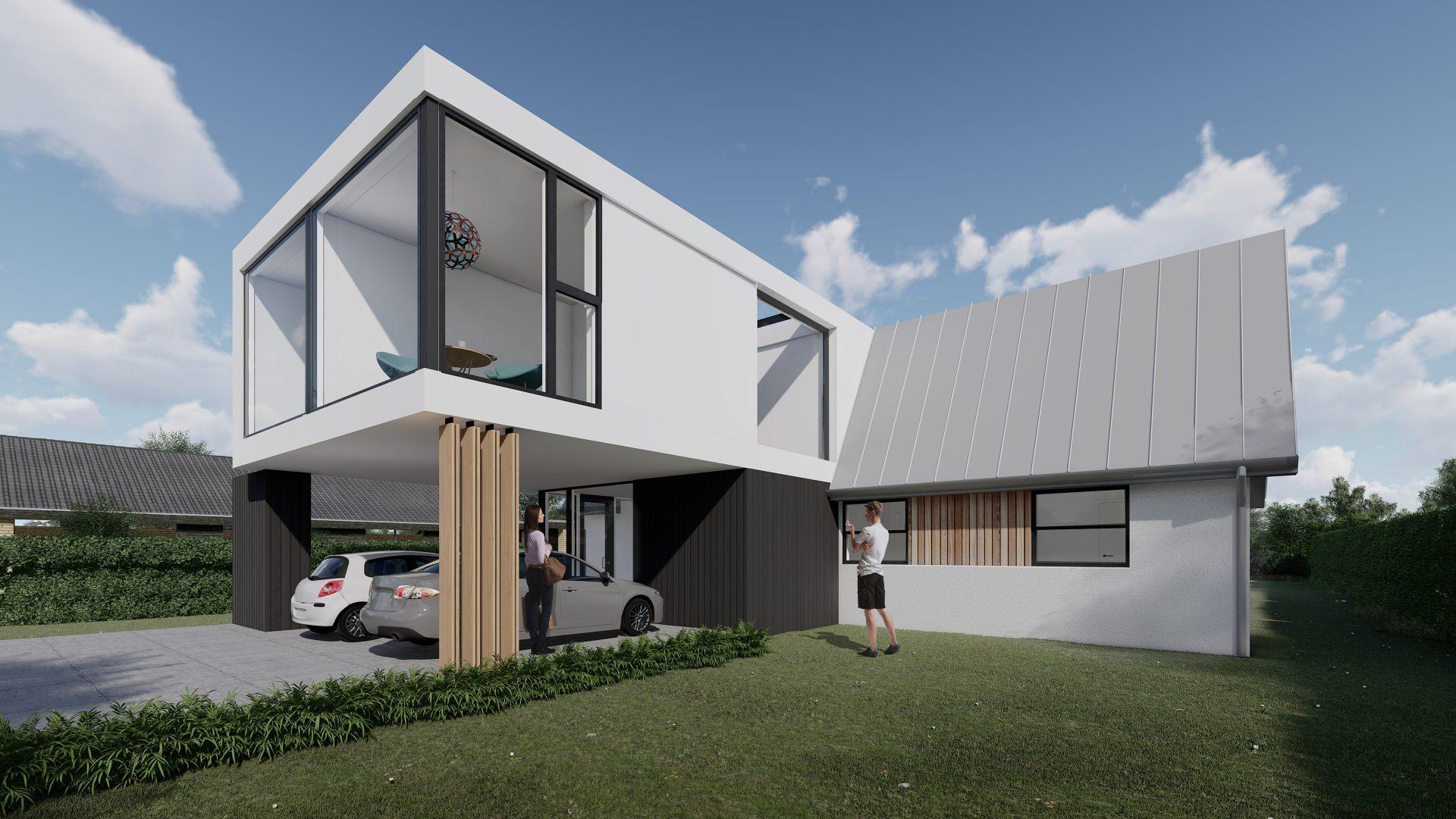 Tilbygning til 70er hus