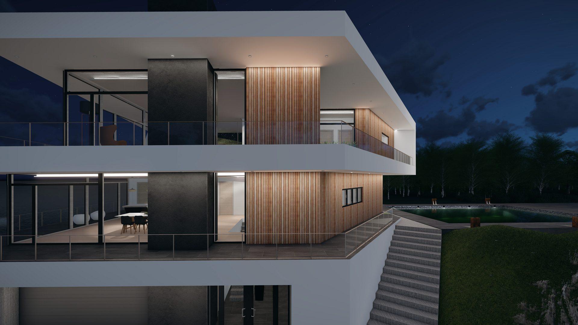 Moderne funkisvilla
