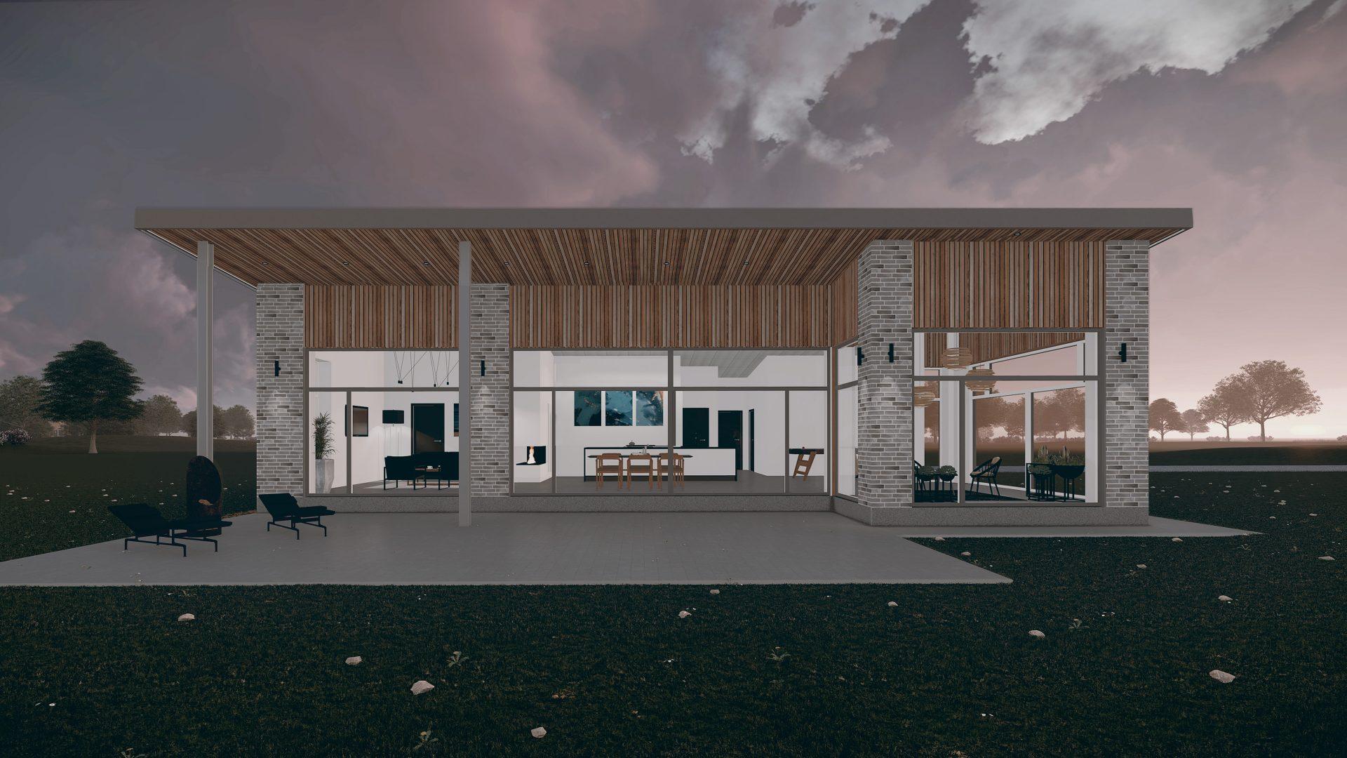 Arkitekttegnet villa i Nordjylland