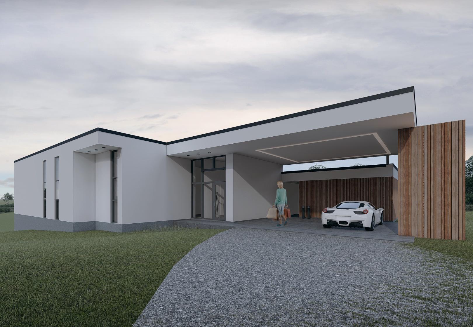 Nyt hus på Høje Støvring