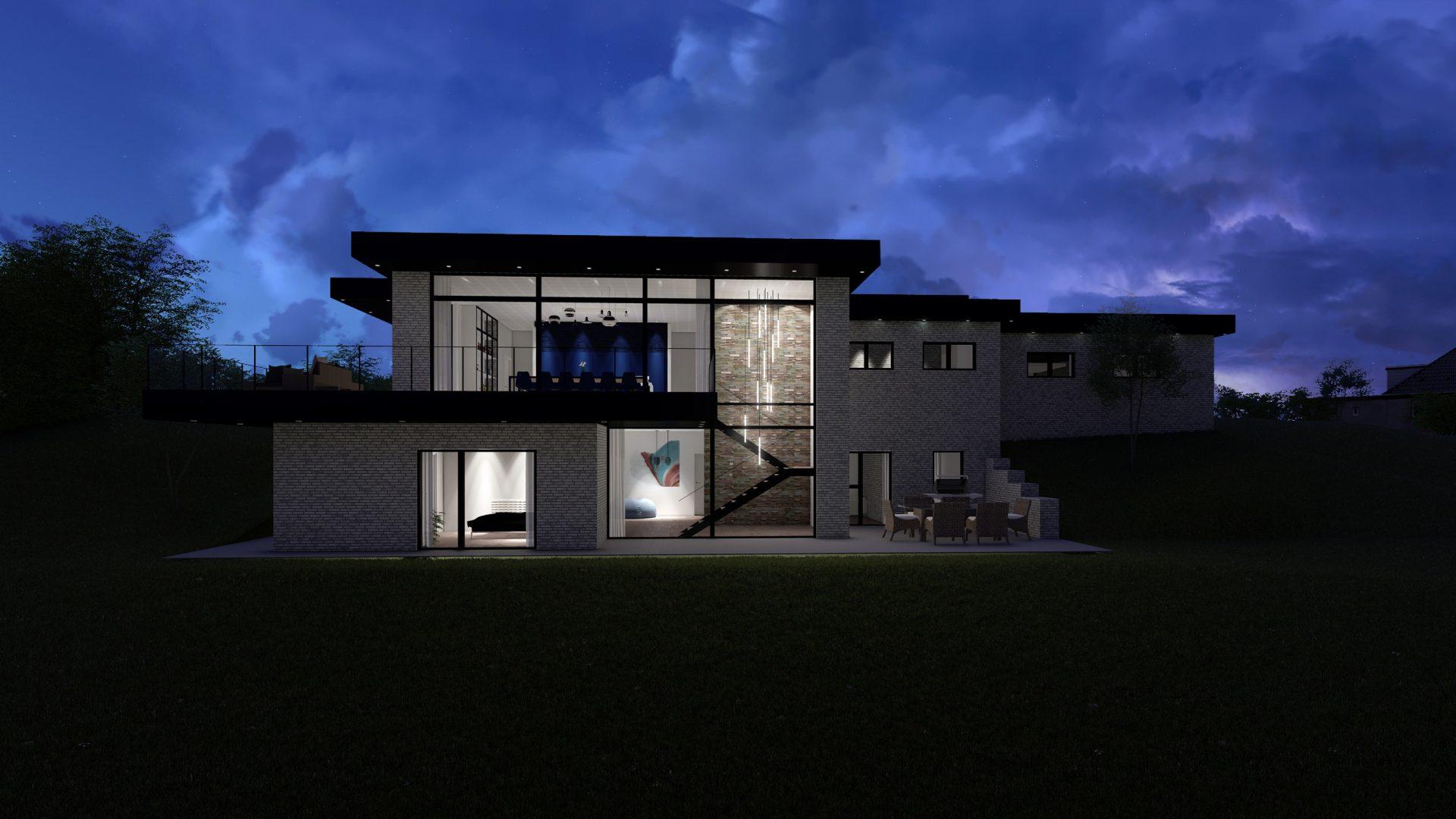 Nybyggeri Aalborg, Århus , Nordjylland, nyt murstens hus